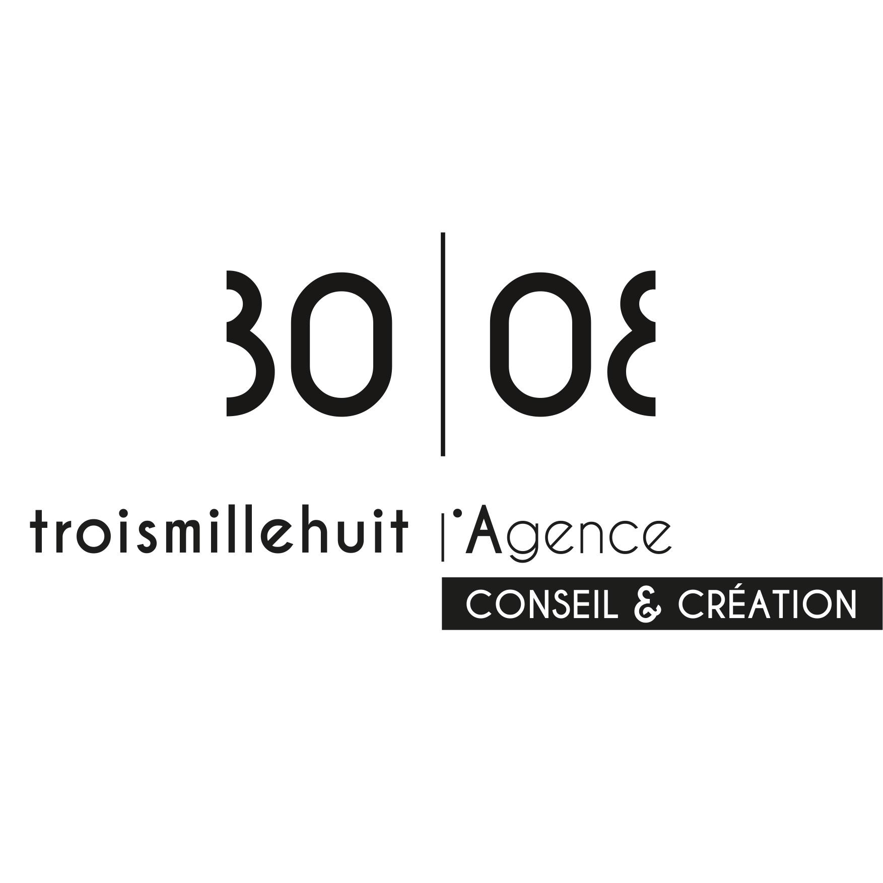 3008 l'agence logo