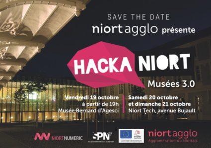 hackathon Hackaniort musées 3.0 niort