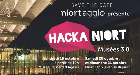 Hackathon 2018 Hackaniort musées 3.0