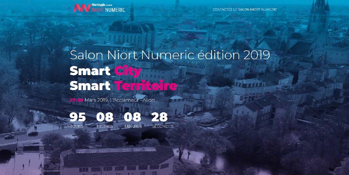 Nouveau site internet pour le salon Niort Numeric