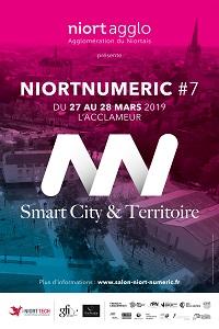 niort numeric 2019 édition 7 affiche