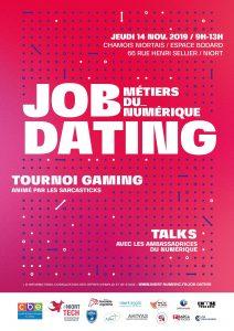job dating niort tech 2019 affiche rs